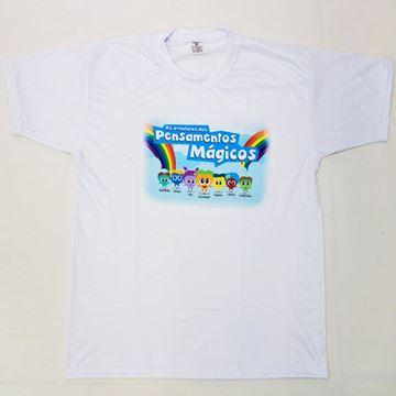 Imagem de Camiseta Infantil - Turma dos Pensamentos Mágicos - Arte 1