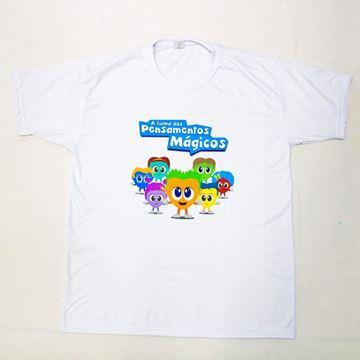 Imagem de Camiseta Infantil - Turma dos Pensamentos Mágicos - Arte 2