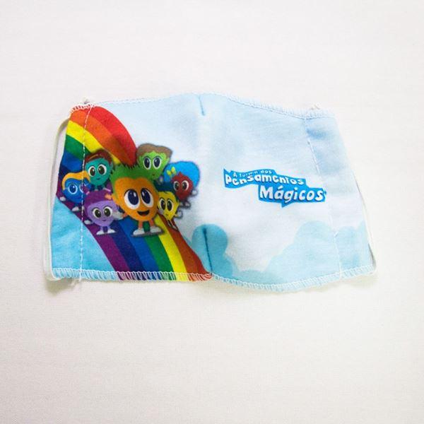 Imagem de Máscara Infantil - Turma dos Pensamentos Mágicos - Arte 1