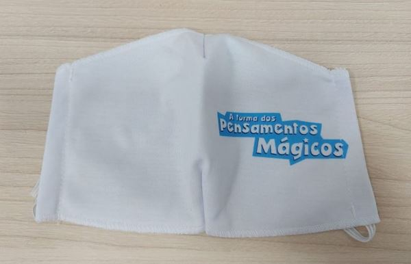 Imagem de Máscara Adulto - Logo da Pensamentos Mágicos Produções