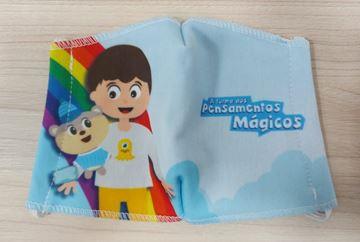 Imagem de Máscara Infantil - Turma dos Pensamentos Mágicos - Arte 2