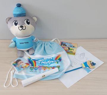 Imagem de Kit Dia das Crianças com Ursinho Tchã-Tchã